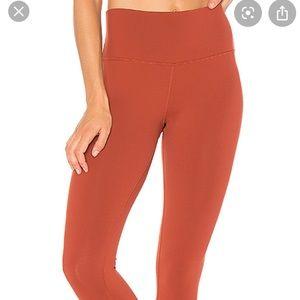 Alo yoga rust high waisted legging